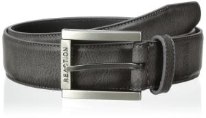 Kenneth Cole REACTION Men's Dress Casual Belt with Edge Stitch and Matte Buckle