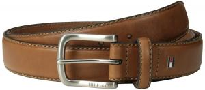 Tommy Hilfiger Men's Big-Tall Casual Belt With Stitch Edges and Buckle