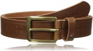 Tommy Hilfiger Men's 35mm Serape Emboss Belt