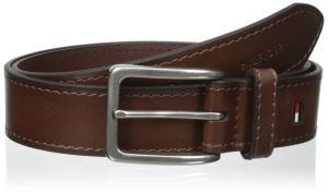Tommy Hilfiger Men's 35mm Vegatable Leather Belt