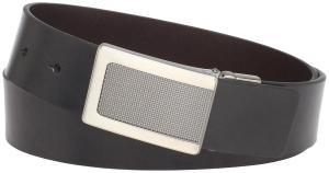 Kenneth Cole REACTION Men's Reversible Plaque Buckle Belt