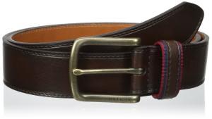 Tommy Hilfiger Men's 35mm Ribbon Loop Belt