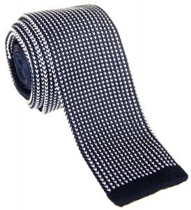 "Retreez Exquisite Vertical Stripe Men's 2"" Skinny Knit Tie - Various Colors"