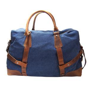 Samic® Casual Life Style Canvas Leather Handbag / Travel Bag / Weekend Bag