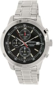 Đồng hồ nam Seiko SKS421 Chronograph Black Dial Stainless Steel Mens Watch