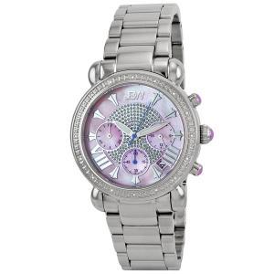 "JBW Women's JB-6210-F ""Victory"" Pink Stainless Steel Diamond Watch"