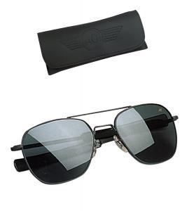 Kính mắt nam American Optical Original Pilot Eyewear 57mm Frame with Bayonet Temples