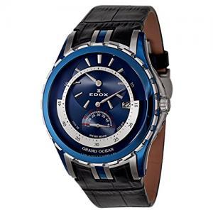 Edox Grand Ocean Regulator Automatic Men's Automatic Watch 77002-357B-BUIN