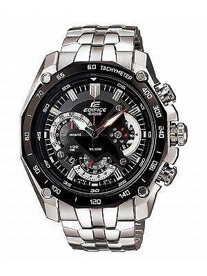 NEW Casio Edifice Chronograph EF-550D-1AVDF EF-550D-1 Mens Watch