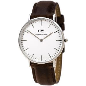 Daniel Wellington Women's 0611DW Bristol Analog Display Quartz Brown Watch