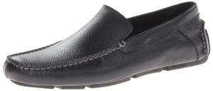 Calvin Klein Men's Miguel Tumbled-Leather Slip-On Loafer