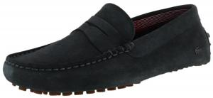 Lacoste Concours 17 Men's Suede Slip On Loafers Shoes Moccasins