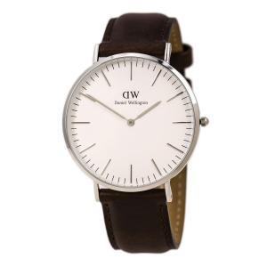 Daniel Wellington Men's 0209DW Bristol Analog Display Quartz Brown Watch