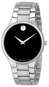 Movado Men's 0606382 Serio Stainless Steel Bracelet Watch