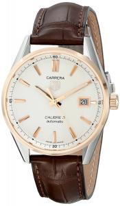TAG Heuer Men's WAR215D.FC6181 Carrera Analog Display Swiss Automatic Brown Watch