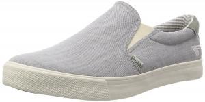 Gola Men's Delta Chambray Slip-On Sneaker