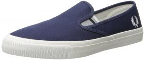 Fred Perry Men's Turner Slip-On Canvas Sneaker