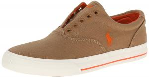 Polo Ralph Lauren Men's Vito Canvas Fashion Sneaker Laceless design