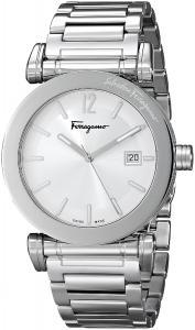 Salvatore Ferragamo Men's FP1950014 Salvatore Analog Display Quartz Silver Watch