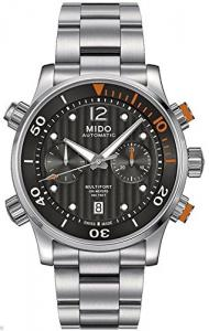 Mido M0059141106000 Multifort Mens Watch - Black Dial Stainless Steel Case Automatic Movement