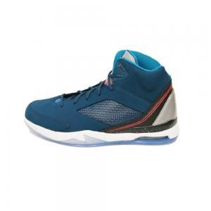 Nike Air Jordan Flight Remix Sneaker Basketball Shoes blue / black / white, EU Shoe Size:47