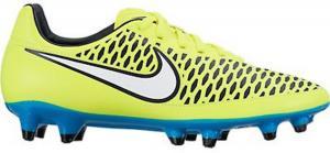 Nike Womens Magista Orden FG Soccer Cleat (Volt, Blue Lagoon)