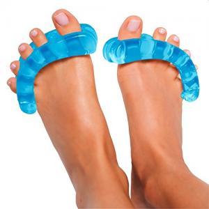 Original YogaToes - Medium Sapphire Blue: Toe Stretcher & Separator. Fight Bunions, Hammer Toes & More!