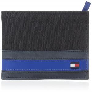 Tommy Hilfiger Men's Exeter Passcase Billfold Wallet