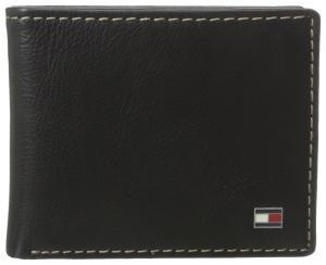 Tommy Hilfiger Men's Logan Double Billfold Wallet