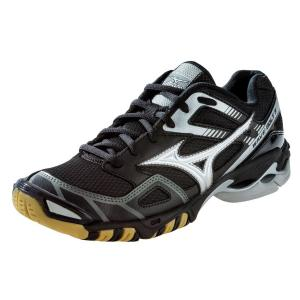 Mizuno Women's Wave Bolt 3 Volleyball Shoes - Black & Silver