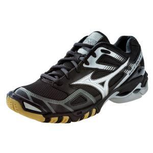 Mizuno Women's Wave Bolt 3 Volleyball Shoes - Black & Silver