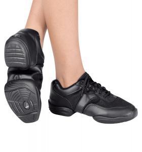 Adult Leather Split-Sole Sneaker,T8000