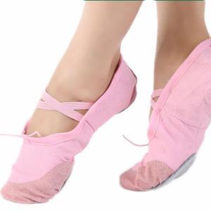 Women Ladies Girls Kids Canvas Ballet Dance Gymnastics Shoes