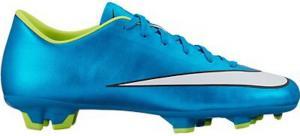 Nike Women's Mercurial Victory V FG Soccer Cleat (Blue Lagoon)