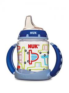 NUK Cars Learner Cup in Boy Patterns, 5-Ounce, 2 count
