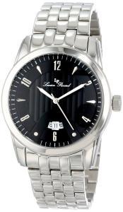 Lucien Piccard Men's LP-12355-11 Diablons Black Dial Stainless Steel Watch