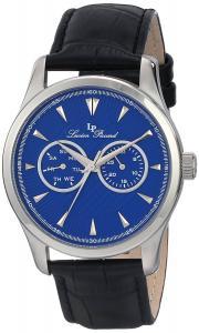 Lucien Piccard Men's LP-12671 Stellar Leather Watch