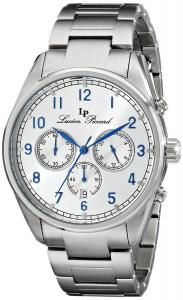 Lucien Piccard Men's LP-10588-23S Moderna Analog Display Japanese Quartz Silver Watch