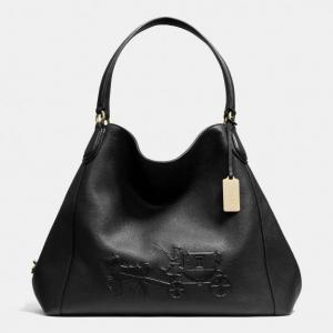 Túi xách COACH EMBOSSED horse and carriage large edie shoulder bag