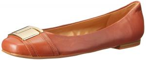 Nine West Women's Syde Leather Ballet Flat