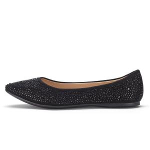 LE MIU SIMPLE-Z Women's Casual Solid Pointed Plain Ballet Comfort Soft Slip On Flats Shoes New Colors