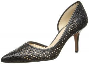 Nine West Women's Kreamer Leather D'Orsay Pump