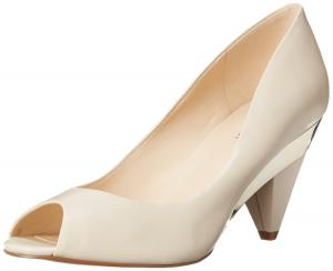 Nine West Women's Heliconia Leather Dress Pump