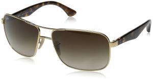 Ray-Ban Men's ORB3516 019/8G62 Square Sunglasses