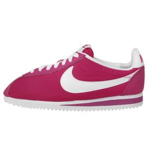 Nike Women's Wmns Classic Cortez Nylon, FIREBERRY/WHITE