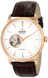 "Orient Men's FDB08001W0 ""Esteem"" Stainless Steel Automatic Watch with Leather Band"