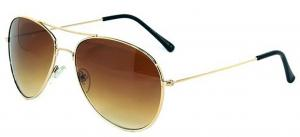Kính mắt Classic Aviator Style Sunglasses Metal Frame Colored Lens UV Protection