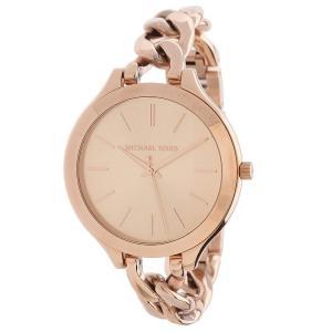 Michael Kors Women's MK3223 Slim Runway Rose Gold-Tone Stainless Steel Bracelet Watch