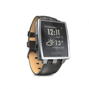 Pebble Steel Smartwatch Stainless (Brushed Stainless)