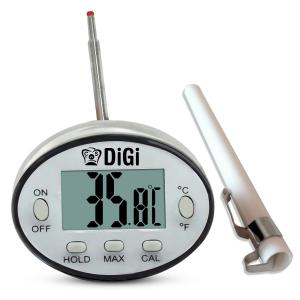 Digital Meat Thermometer From Cooknstuff Checks Internal Temperature